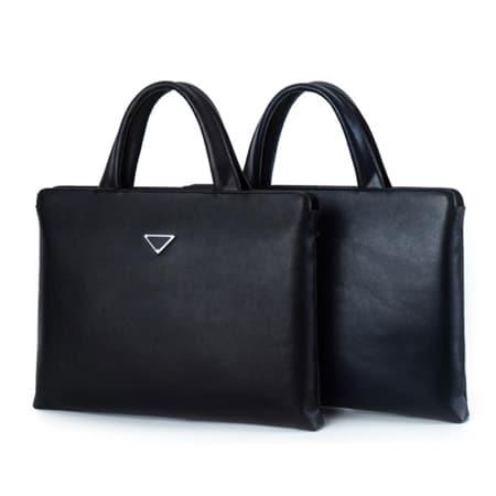 PU leather handbag woman