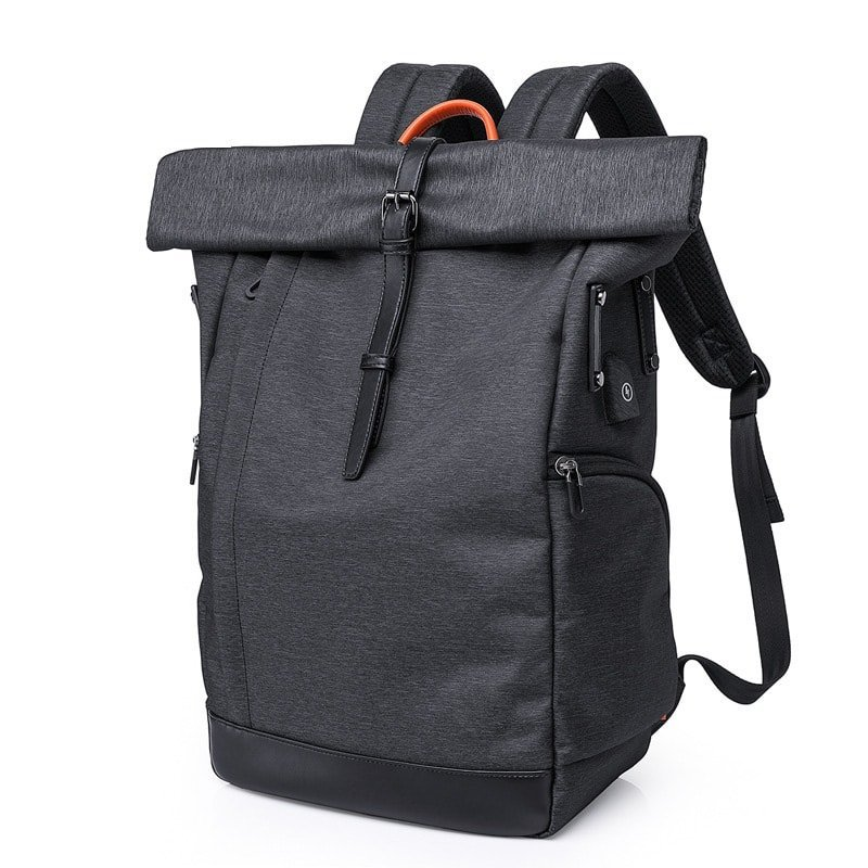 rolltop laptop backpack
