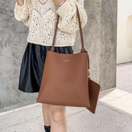 Private label leather handbags