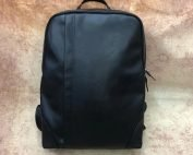mens leather backpack